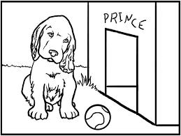 Free Printable Dog Coloring Pages Kids Dogs Christmas Breeds Cute Large Size