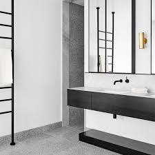 Australian Interior Designer David Flack Selected Terrazzo To Clad The Bathroom Floor And Shower In This