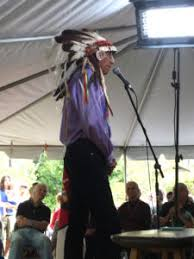 Chief Arvol Looking Horse Speaks To The Crowd At Agape Community