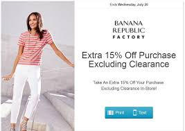 Banana Republic Factory In Store Coupon : Lamps Plus Promo Code Sales Tax Holiday Coupons Bana Republic Factory Outlet 10 Off Republic Outlet Canada Coupon 100 Pregnancy Test Shop For Contemporary Clothing Women Men Money Saver Up To 70 Fox2nowcom Code Bogo Entire Site 20 Off Party City Couons 50 Coupons Promo Discount Codes Gap Factory Email Sign Up Online Sale Banarepublicfactory Hashtag On Twitter Extra 15 The Krazy Free Shipping Codes October Cheap Hotels In Denton Tx