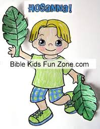 Palm Sunday Crafts For Preschool Children Activities Lesson Donkey Coloring Pages