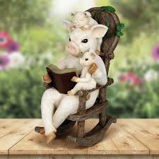 August Grove Maire Solar Pig Reading Story In Rocking Chair ... Rocking Chair Health Uk Kids Toy Horse Story Illustration For Children Little Room With A Wooden This Is The Only Chair Youll Need If Youre Grandparent Of Ikea Ps Rockingchair First Sketches Today Chairs Whats Their Story Souvenirs Tell Stories Part 7 Jim Illinois Fairytale Fniture Silky The Pony Antique Rocking From 1800s Collectors Weekly Buy Storyhome Adjustable Folding Lounge Red Time For Twins