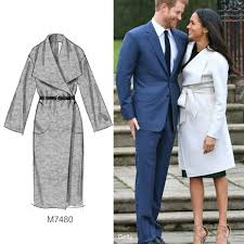 Sew The Looktm Make A Coat Similar To Meghan Markles With