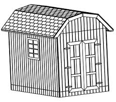 8 X 10 Gambrel Shed Plans by 10x20 Saltbox Wood Storage Garden Shed Plans 26 Styles Gable