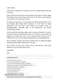 Pin Von Carmen Perez De La Cruz Auf German BRIEF EMAIL UND SMS E