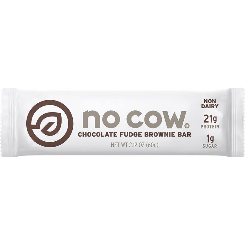 No Cow Bar, Chocolate Fudge Brownie - 2.12 oz