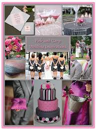 Pink And Grey Wedding Color Combinations