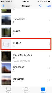 How to Hide s on iPhone & iPad with the iOS Hidden Album