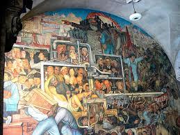 Diego Rivera Rockefeller Center Mural Controversy by Diego Rivera La Historia De México Mural 1925 1935