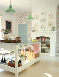 Shabby Chic Kitchen Wallpaper Is It For You Town Country Living With Style Ideas