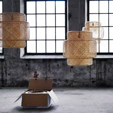 Hanging Lamp Ikea Indonesia by Sinnerlig Pendant Lamp Bamboo Pendant Lamps Pendants And Lights