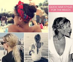 Cute Quick Beach Looks Hairstyles Summer Hair Nails