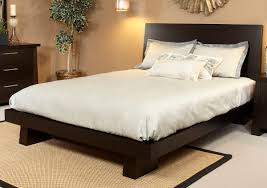 Platform Bedroom Set by Hiro Platform Bed In Warm Ebony Haiku Designs