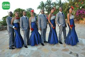 Beautiful Royal Blue And Red Wedding Contemporary