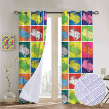 100 Pop Art Bedroom Amazoncom NUOMANAN Blackout Curtains For Cars