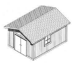 Shed Plans 16x20 Free by Shed Plans Storage Shed Plans Free Shed Plans Build A Gable