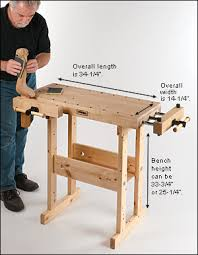 Woodworking Workbench Height by