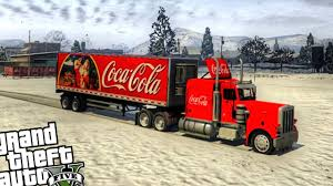 100 Gta 5 Trucks And Trailers Coca Cola Christmas Truck GTA PC MOD YouTube With Coca Cola Truck