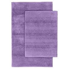 Purple Decorative Towel Sets by Bathroom Calming Blue Color With White Patterned Soft Cotton