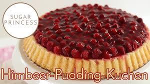 himbeer pudding kuchen obstkuchen mit pudding rezept sugarprincess vegan und klassisch