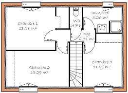 surface chambre prévisions de maisons à contruire en loire atlantique 44