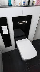 privates badezimmer schwarz weiß wieczorek fliesen