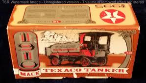 100 Ertl Trucks ERTL Collectibles 1910 Mack Texaco Tanker Bank Model HobbyDB