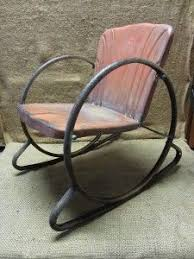 Banana Shaped Rocking Chairs by 25 Unique Old Metal Chairs Ideas On Pinterest Metal Folding