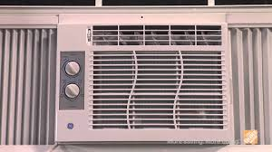 GE 6 300 BTU Window Air Conditioner with Remote The Home Depot