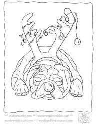Christmas Dog Pictures To Color Echos Cartoon Coloring Sheets From Our Free Printable Pages Collection Of