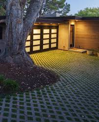 driveway designs ideas with driveway l andscape midcentury and