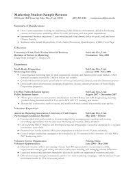 Good Resume Examples College Students Itemroshop Internship Marketing Student Template Universal Essay Enasyq Biodata Summer Internships Builder Writing