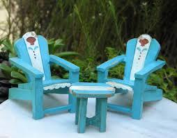 Mini Gardens Miniature Dollhouse Garden Tools Seaside Beach Outdoor Furniture Living Miniatures Life Yard