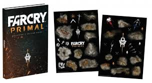 Far Cry Primal Collectors Edition Prima Official Guide Wall Clings