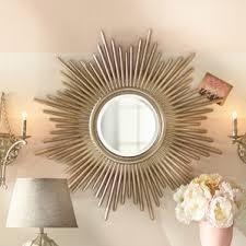 Wayfair Decorative Wall Mirrors by Sunburst Wall Mirrors You U0027ll Love Wayfair