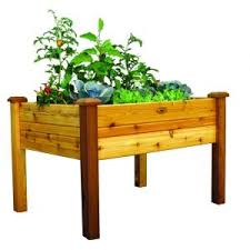 gronomics 34 in x 48 in x 32 in safe finish elevated garden bed