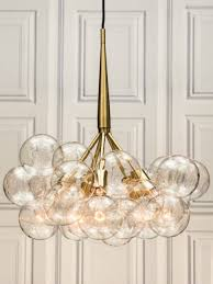 chandeliers design awesome large glass globe chandelier retro