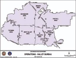 bureau valley map of valley bureau los angeles department