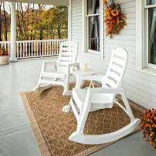 Adams Manufacturing Big Easy Rocking Chair, White - Walmart.com Fniture Stunning Plastic Adirondack Chairs Walmart For Outdoor Deck Rocking Lowes Lawn In Brown Wicker Chair Patio Porch All Weather Proof W Lovely Resin Collection Of Black Best Way Your Relaxing Using Intertional Caravan Maui 50 Inspired Beach Lounge Restaurant Semco Recycled Walmartcom Shine Company Vermont Rocker Chili Pepper Products Ozark Trail Portable