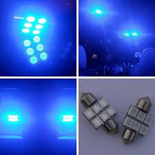 31mm 6 smd led 10000k ultra blue light bulbs led231 6 blue 6b2