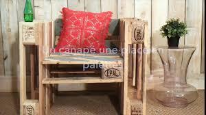 canapé diy diy fabriquer un canapé 1 place en palettes vidéo dailymotion