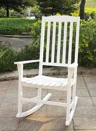 Bentley Porch Rocker, White | Outdoor Rocking Chair | Porch ...