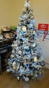 4 Ft Pre Lit Christmas Tree Asda by 6ft Snowy Pine Christmas Tree Christmas Shop George
