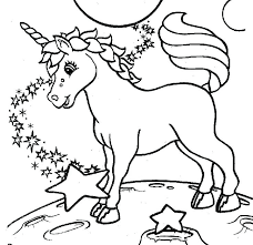 Coloring Pages Printable Unicorn Color Kids For Free