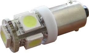 eversale led 1w 12v white omni bulb ba9s t4w side 5