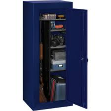 stack on limited edition 18 gun steel security cabinet blue