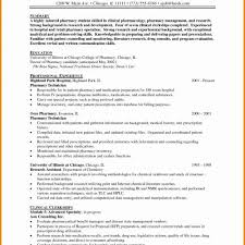 Information Technology Resume Cool Examples Beautiful Pharmacy Tech