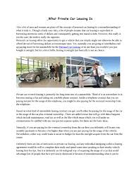100 Commercial Truck Lease Agreement Vehicle California Template Car Leasing Format