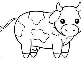 4 Cow Printable Coloring Pages Free Printable Cow Coloring Pages