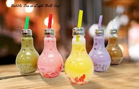 new light bulb tea cups has arrived 茶宝 qbubble troika